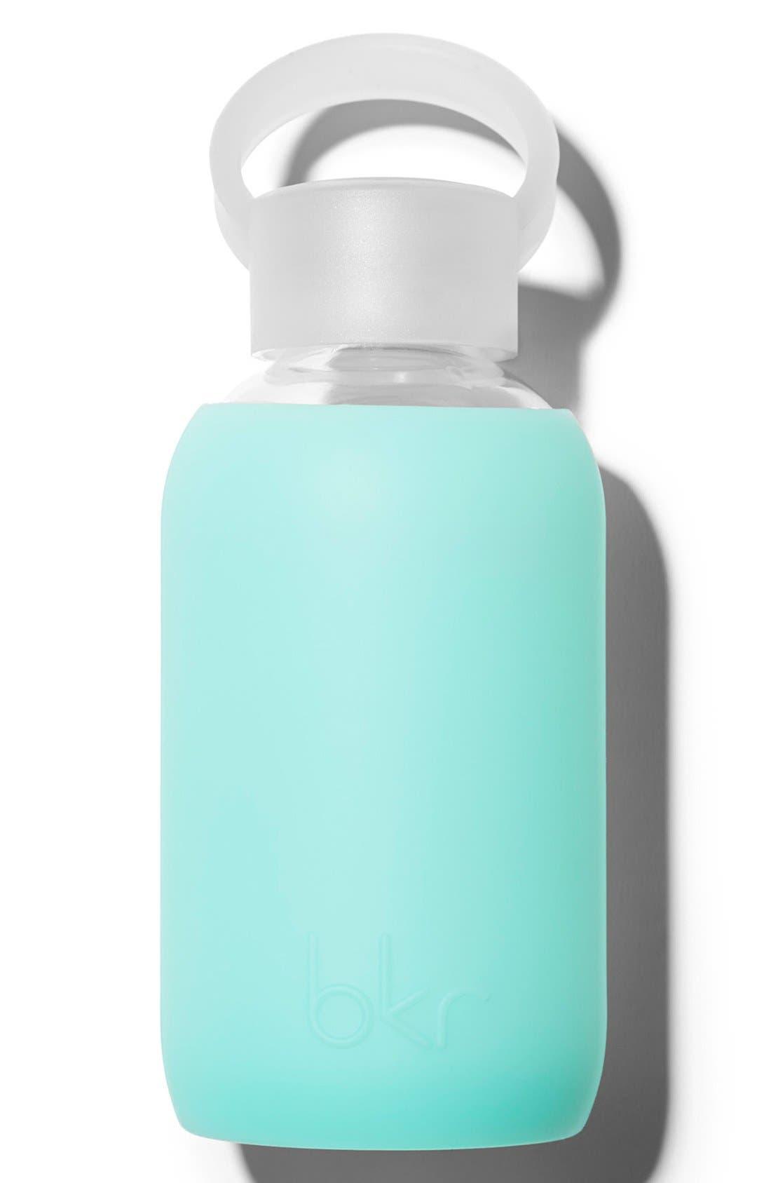 Alternate Image 1 Selected - bkr® 8-Ounce Glass Water Bottle