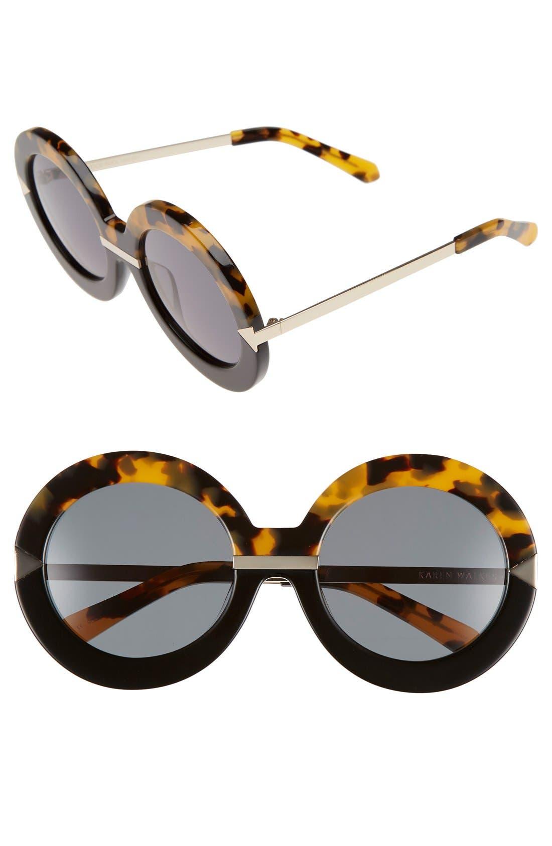 Main Image - Karen Walker 'Hollywood Pool - Arrowed by Karen' 53mm Sunglasses