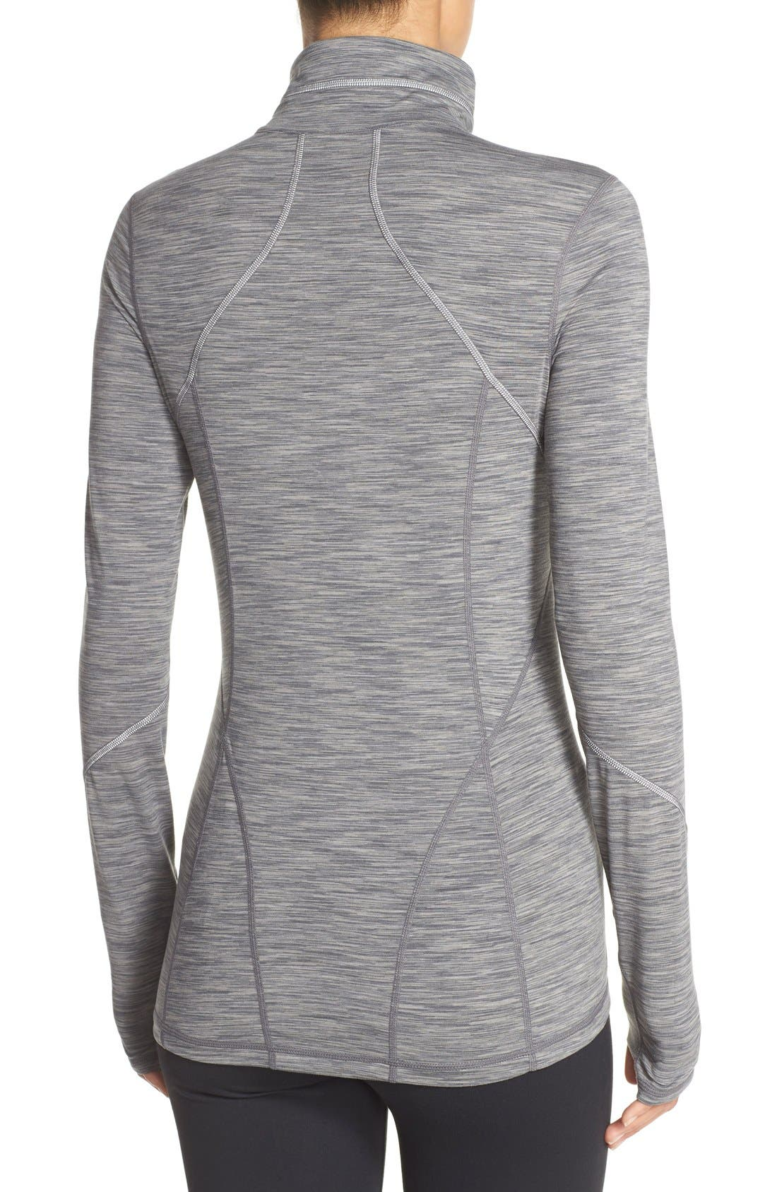 Alternate Image 2  - Zella 'Revelation' Half Zip Top