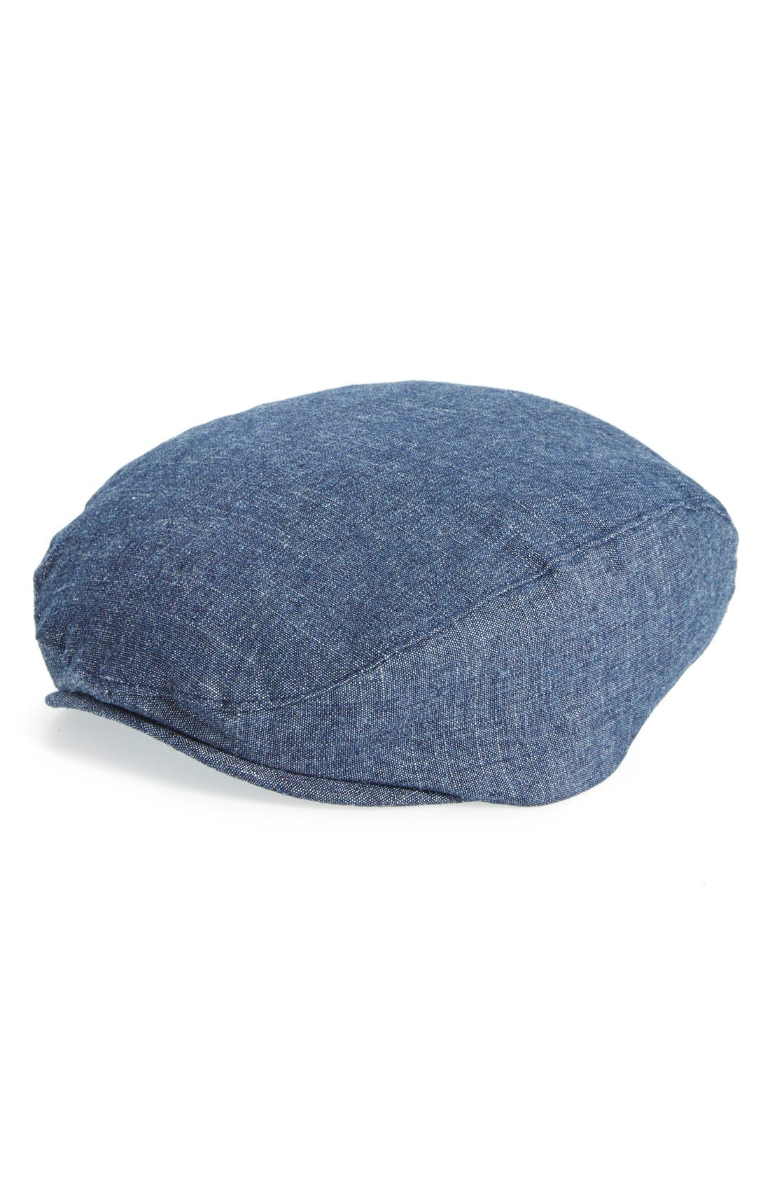 Nordstrom Baby Chambray Driving Cap (Baby Boys)