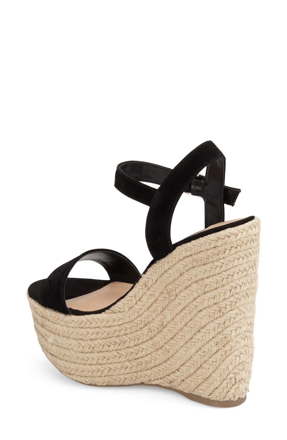 Alternate Image 2  - Steve Madden 'Alyssa' Espadrille Wedge Sandal (Women)