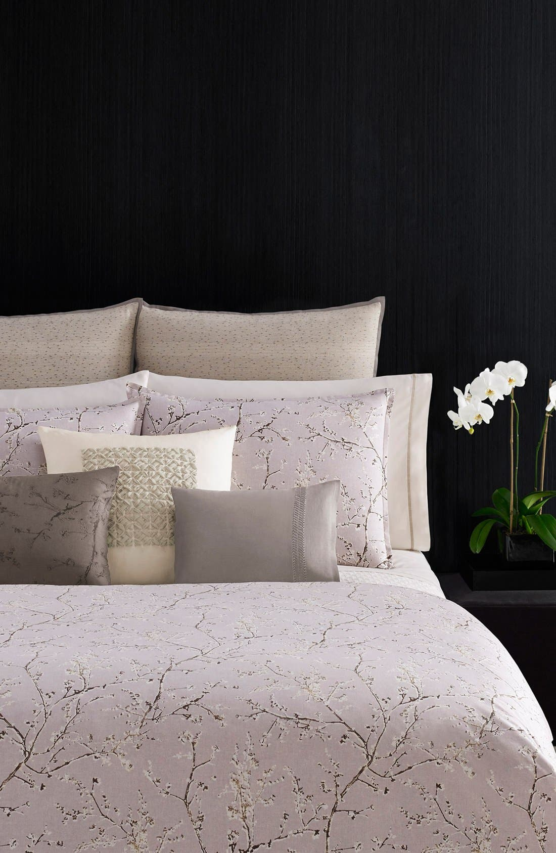 Alternate Image 2  - Vera Wang 'Winter Blossoms' King Duvet Cover