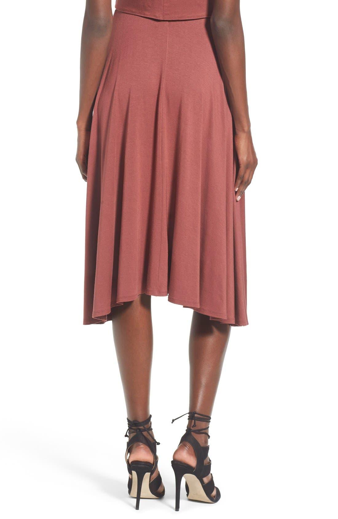 Alternate Image 3  - Leith Circle Midi Skirt