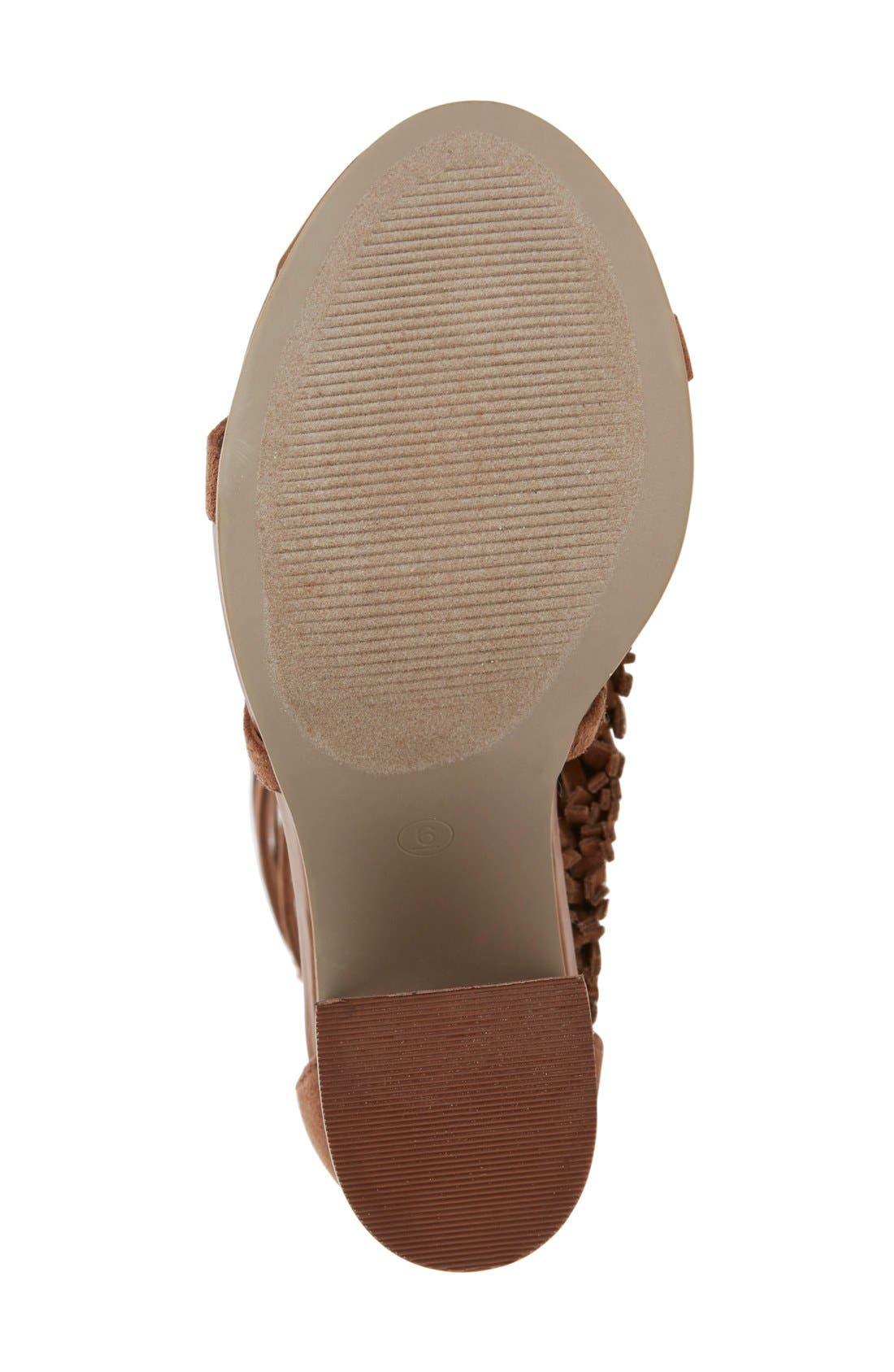 Alternate Image 4  - MIA 'Ricarda' Gladiator Sandal (Women)