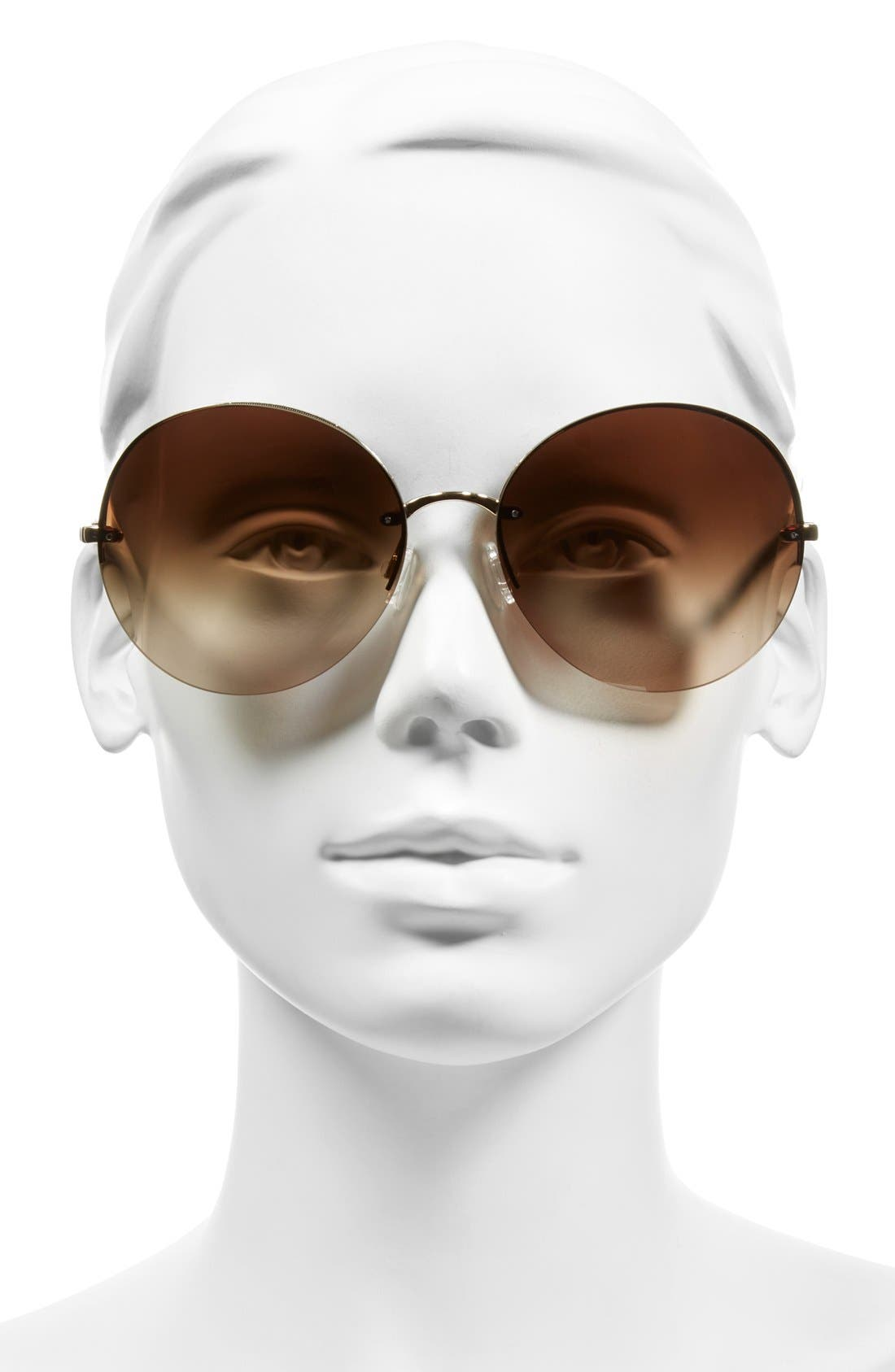 Alternate Image 2  - Oliver Peoples Jorie 62mm Semi Rimless Sunglasses