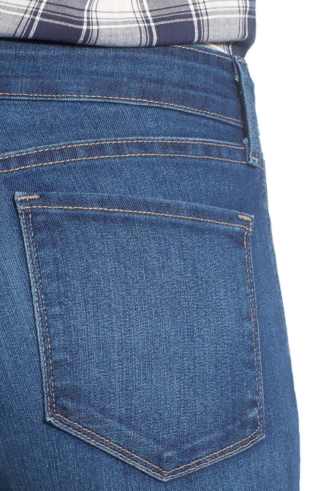 Ami Stretch Skinny Jeans,                             Alternate thumbnail 4, color,                             Cleveland