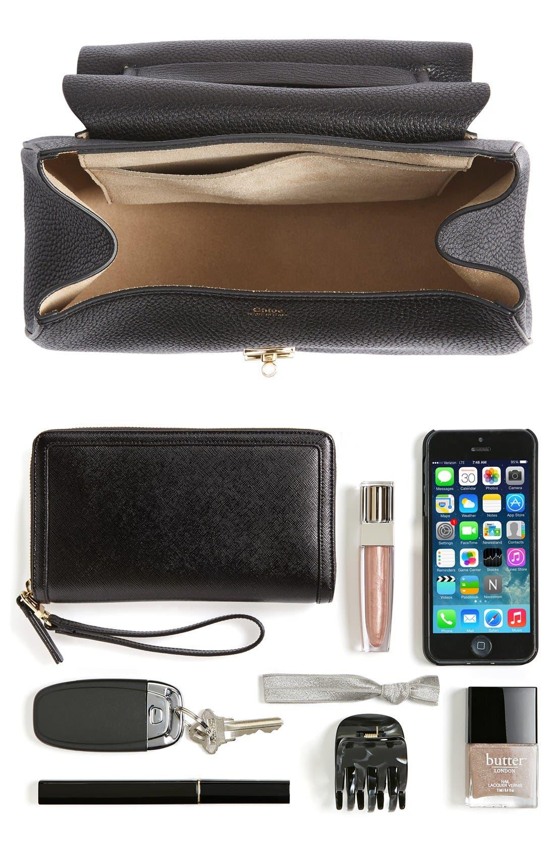 Alternate Image 7  - Chloé 'Drew' Lambskin Leather Shoulder Bag