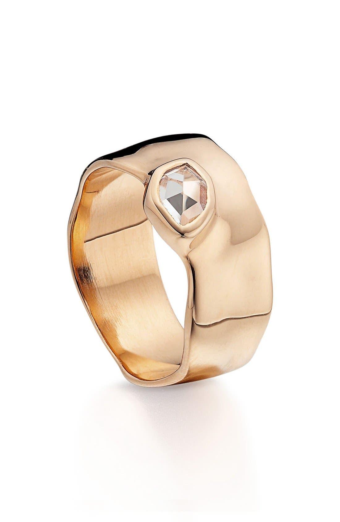 Monica Vinader 'Siren' Wide Band Ring