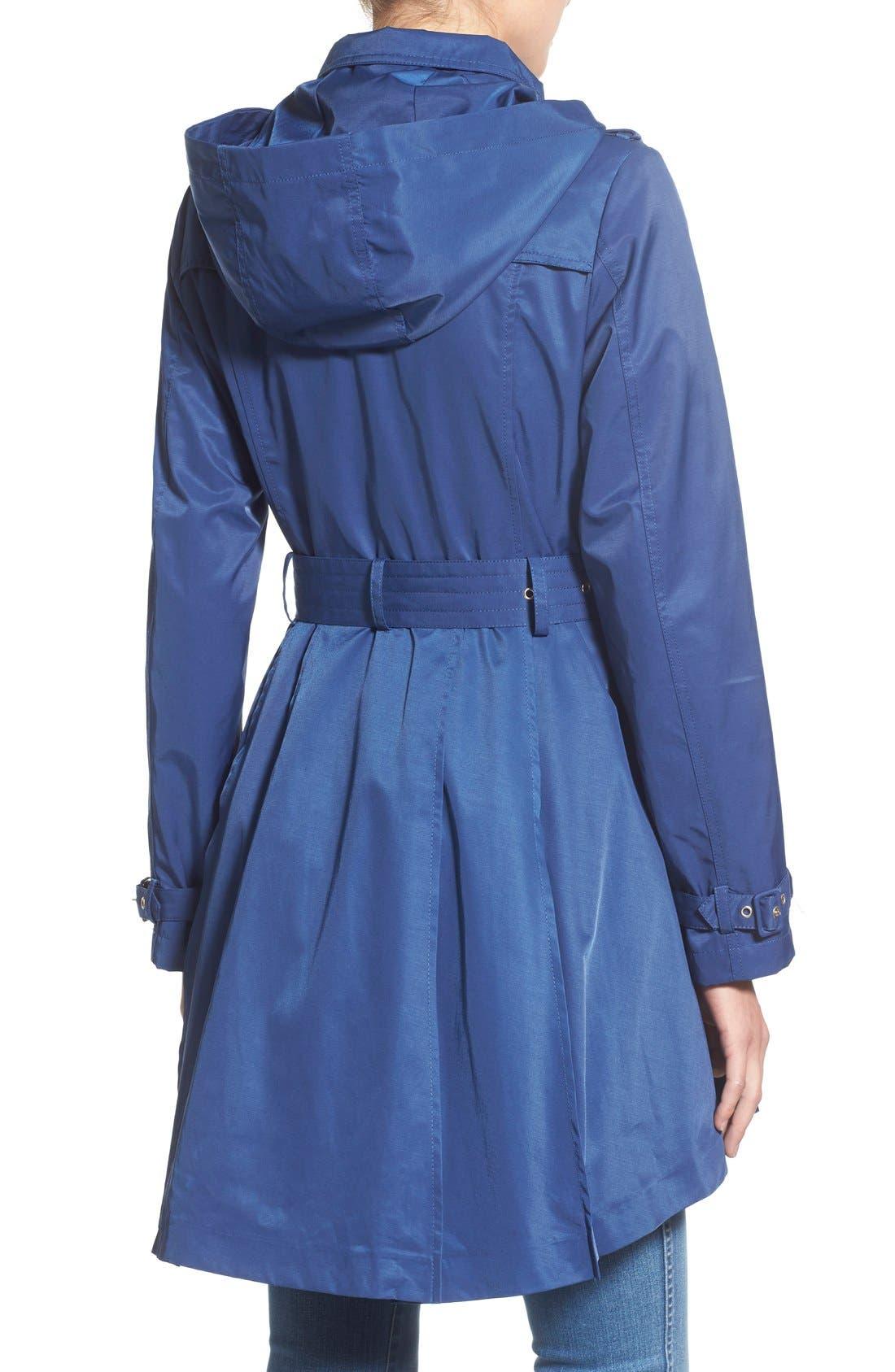 Alternate Image 2  - Steve Madden Trench Coat with Detachable Hood