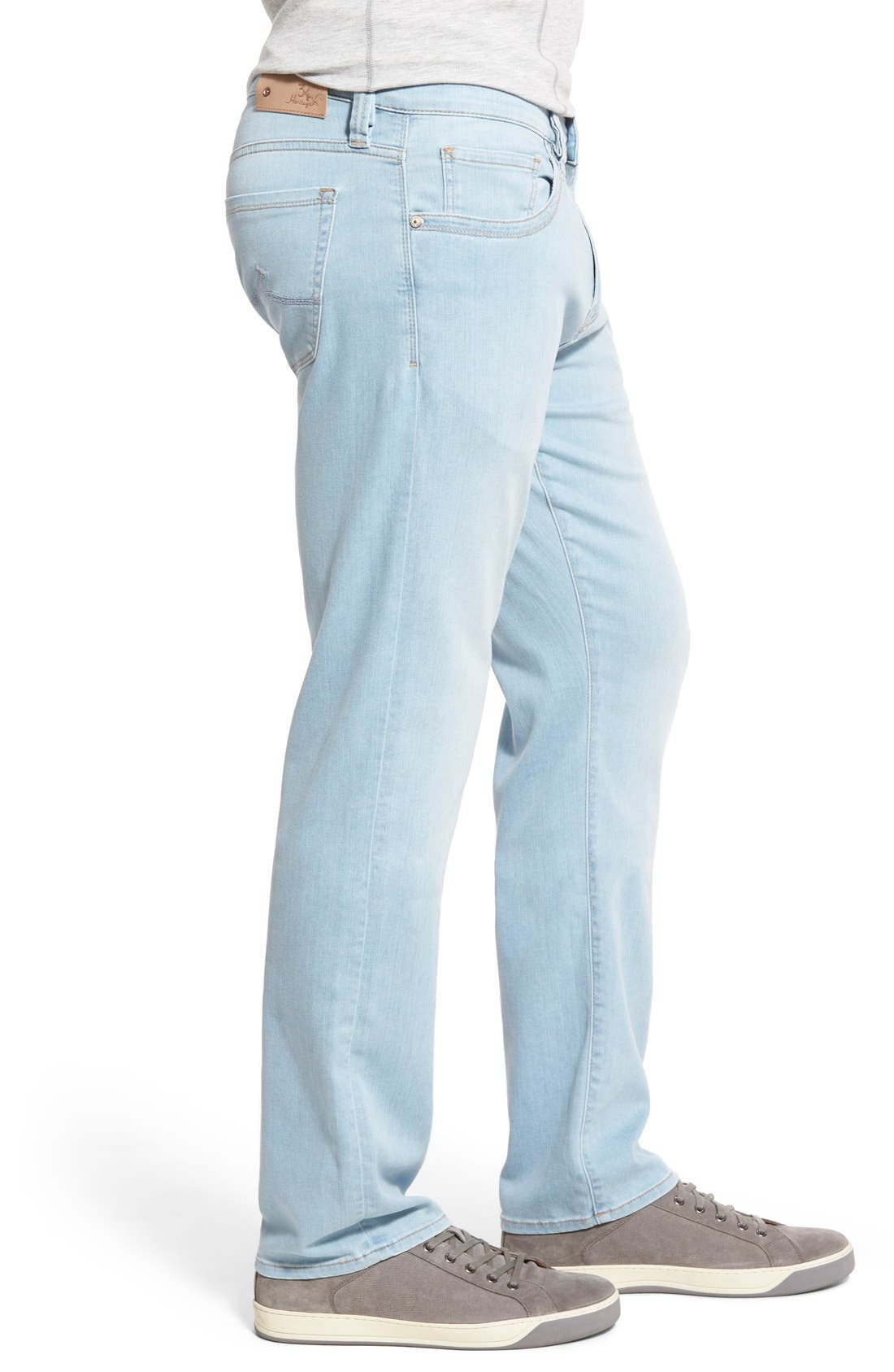 'Charisma' Relaxed Fit Jeans,                             Alternate thumbnail 3, color,                             Bleach Hawaii