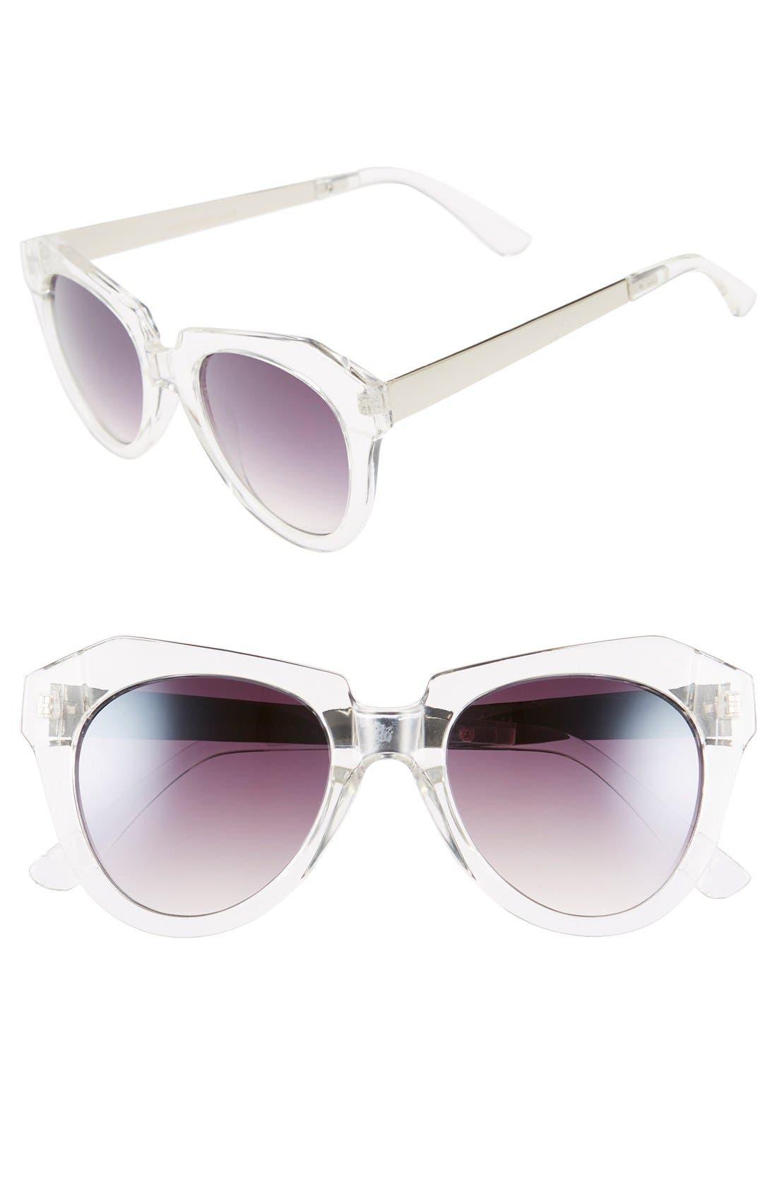 Alternate Image 1 Selected - BP. 51mm Geo Sunglasses