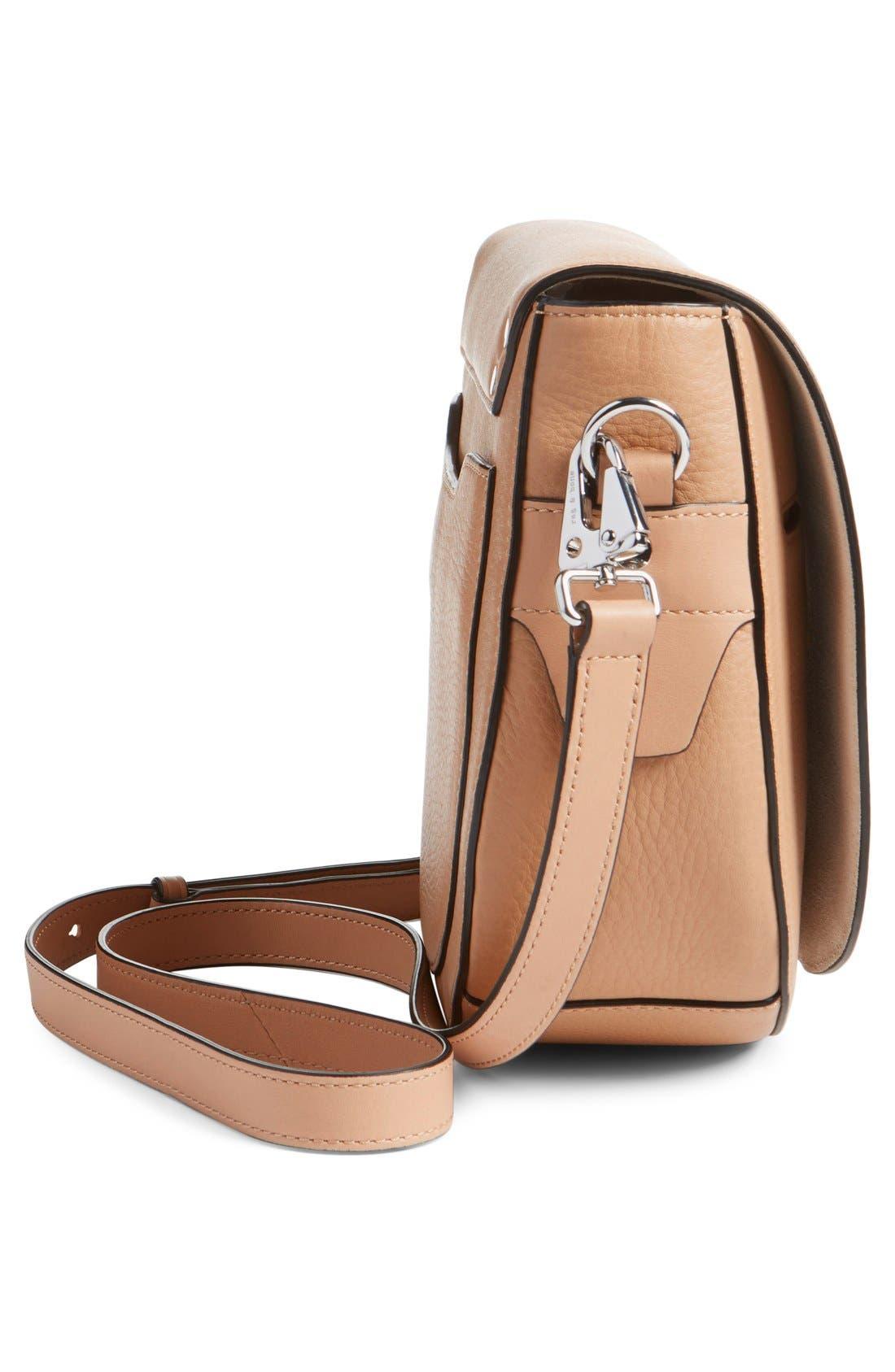 Alternate Image 4  - rag & bone 'Flight' Leather Crossbody Saddle Bag