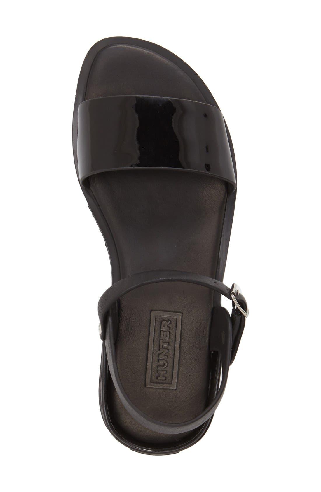 Alternate Image 3  - Hunter Colorblock Sandal (Women)