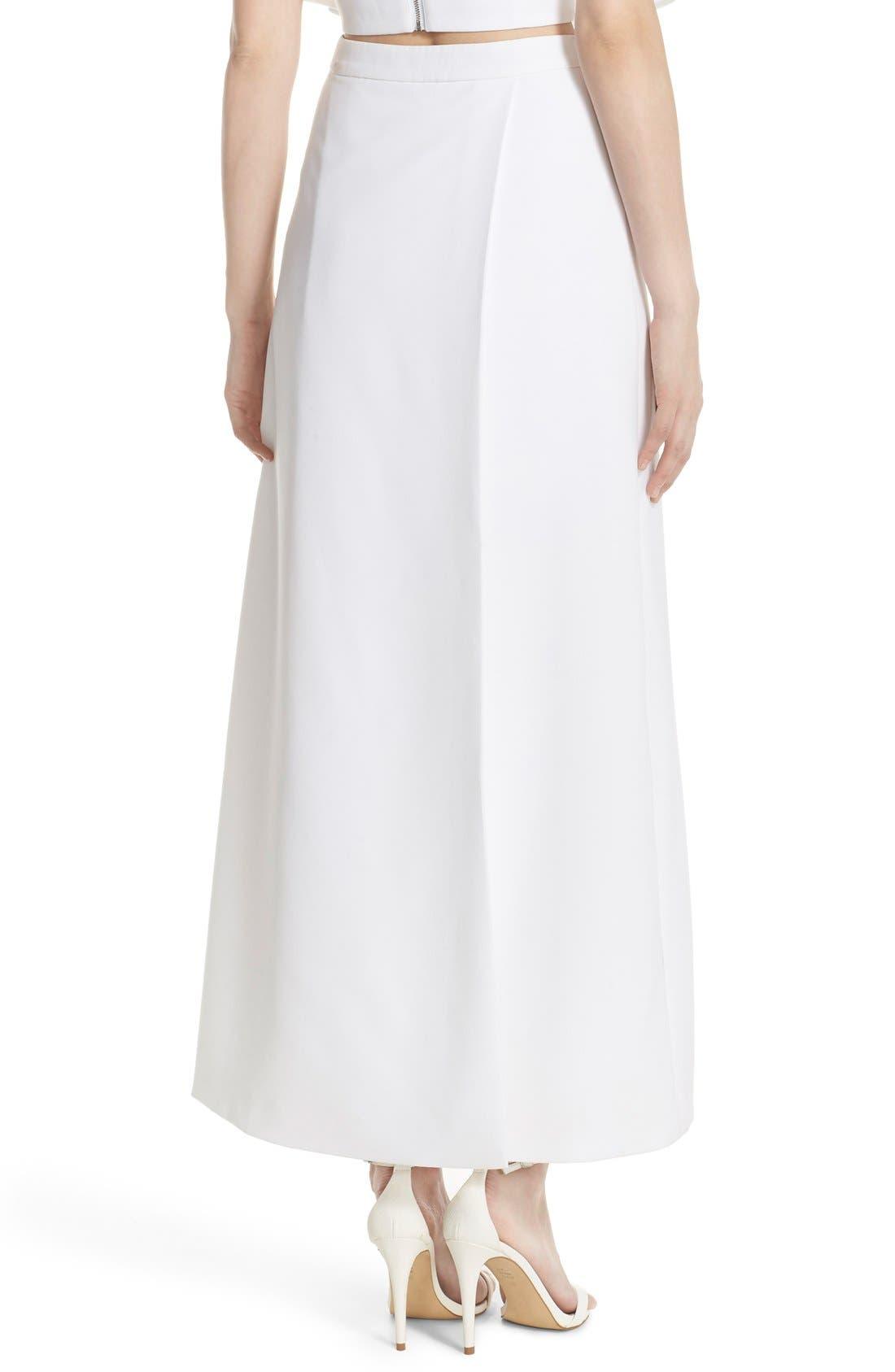 Alternate Image 2  - Elliatt 'Statue' Split Front Maxi Skirt