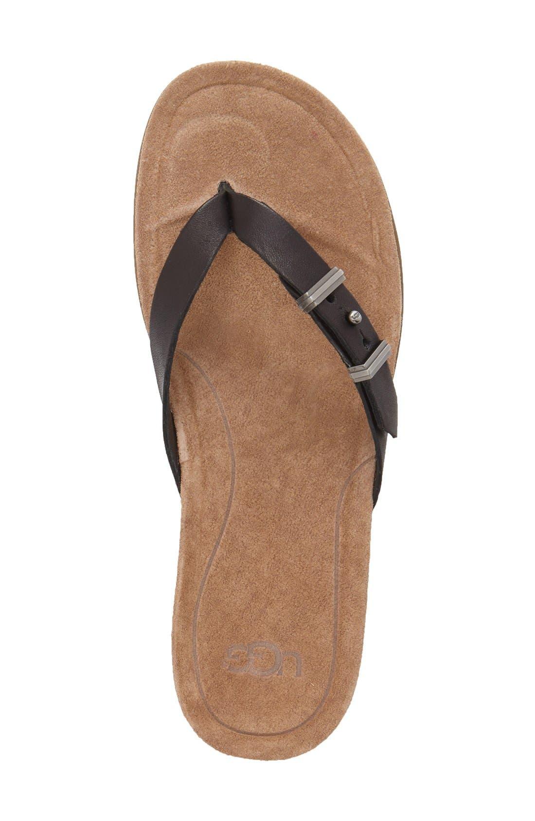 Alternate Image 3  - UGG® 'Sela' Flip Flop (Women)