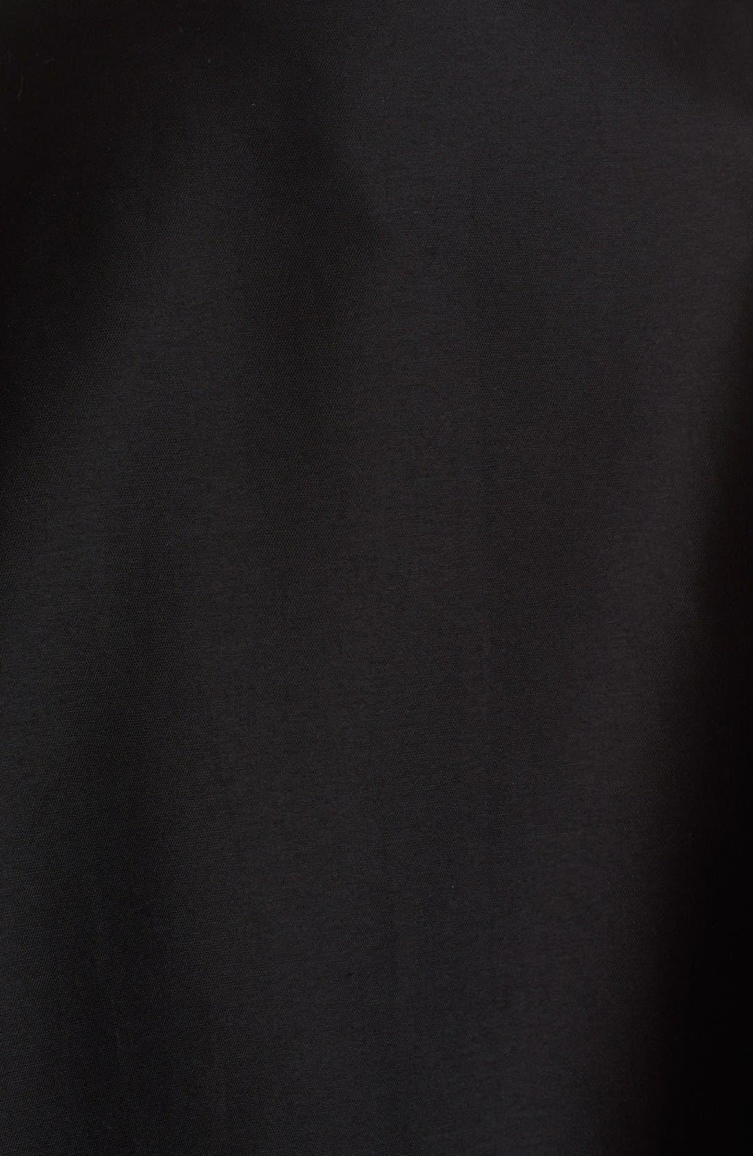 Full Length Evening Skirt,                             Alternate thumbnail 3, color,                             Black