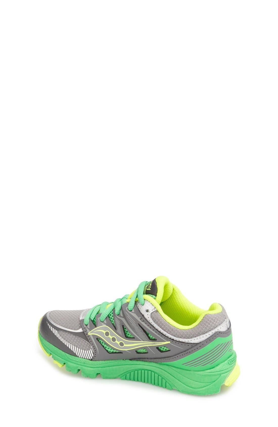 Alternate Image 2  - Saucony 'Zealot' Athletic Shoe (Toddler, Little Kid & Big Kid)