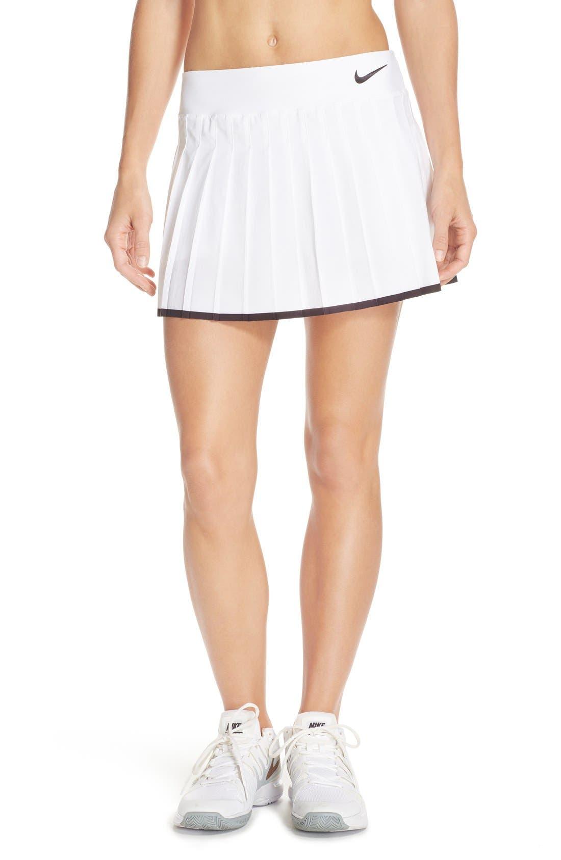 Nike 'Victory' Pleat Dri-FIT Tennis Skirt