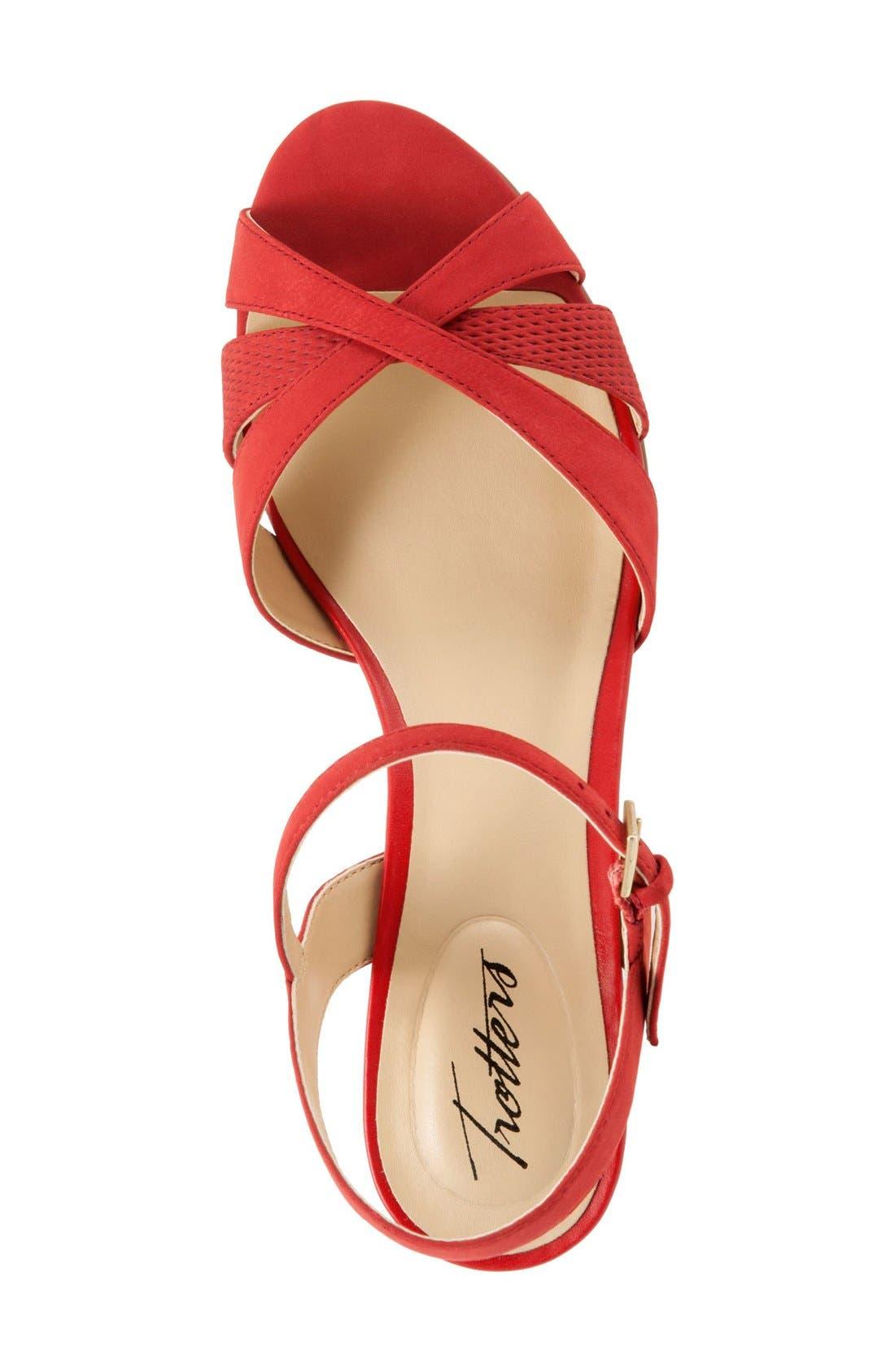 Alternate Image 3  - Trotters 'Mickey' Wedge Sandal (Women)
