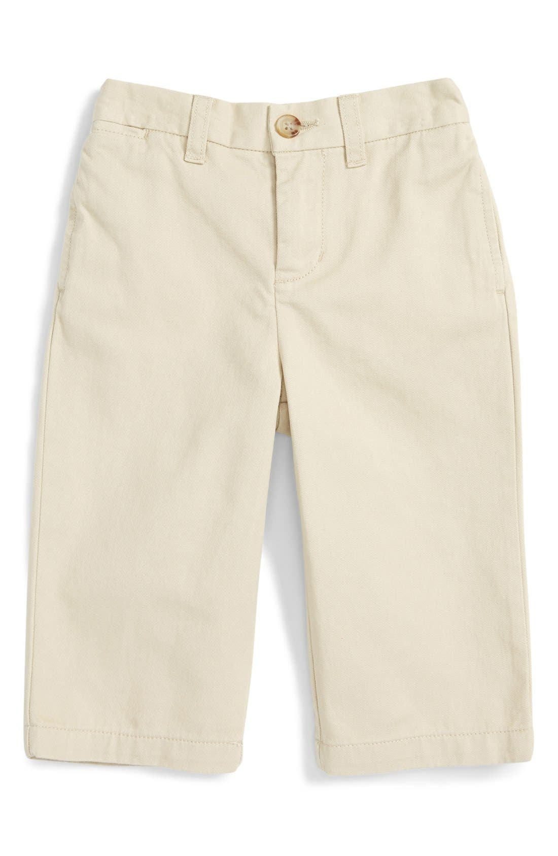 Alternate Image 1 Selected - Ralph Lauren 'Suffield' Chino Pants (Baby Boys)