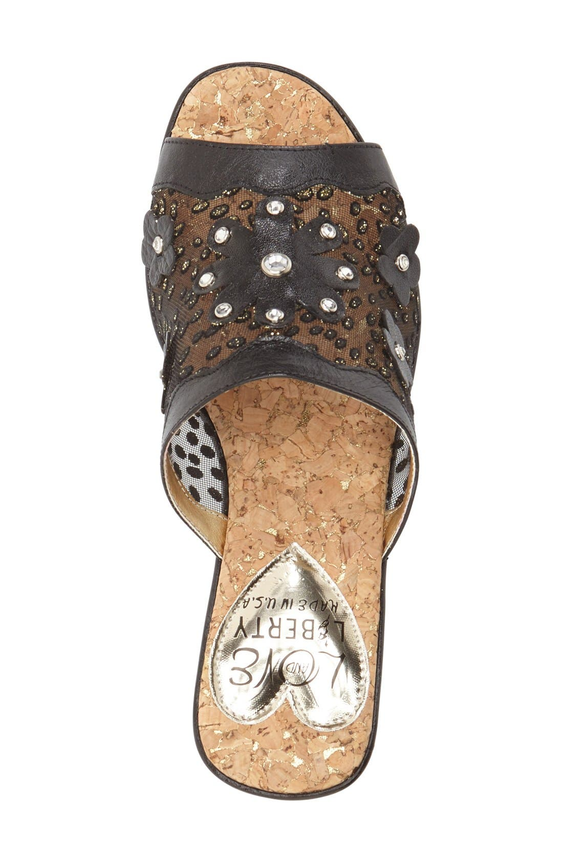 Alternate Image 3  - Love and Liberty 'Jamila' Platform Wedge Sandal (Women)