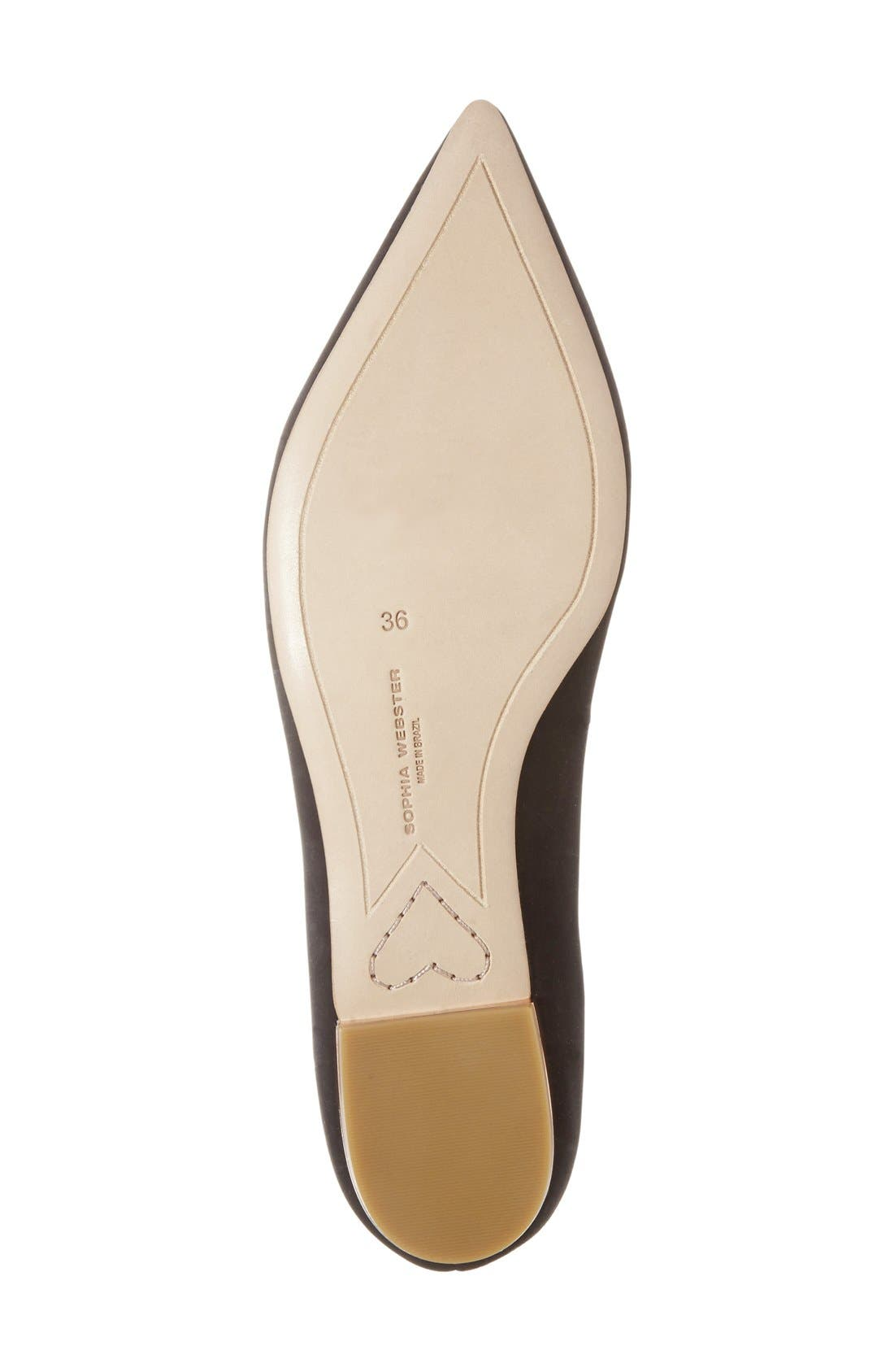 Alternate Image 4  - Sophia Webster 'Bibi Butterfly' Pointy Toe Flat (Women)