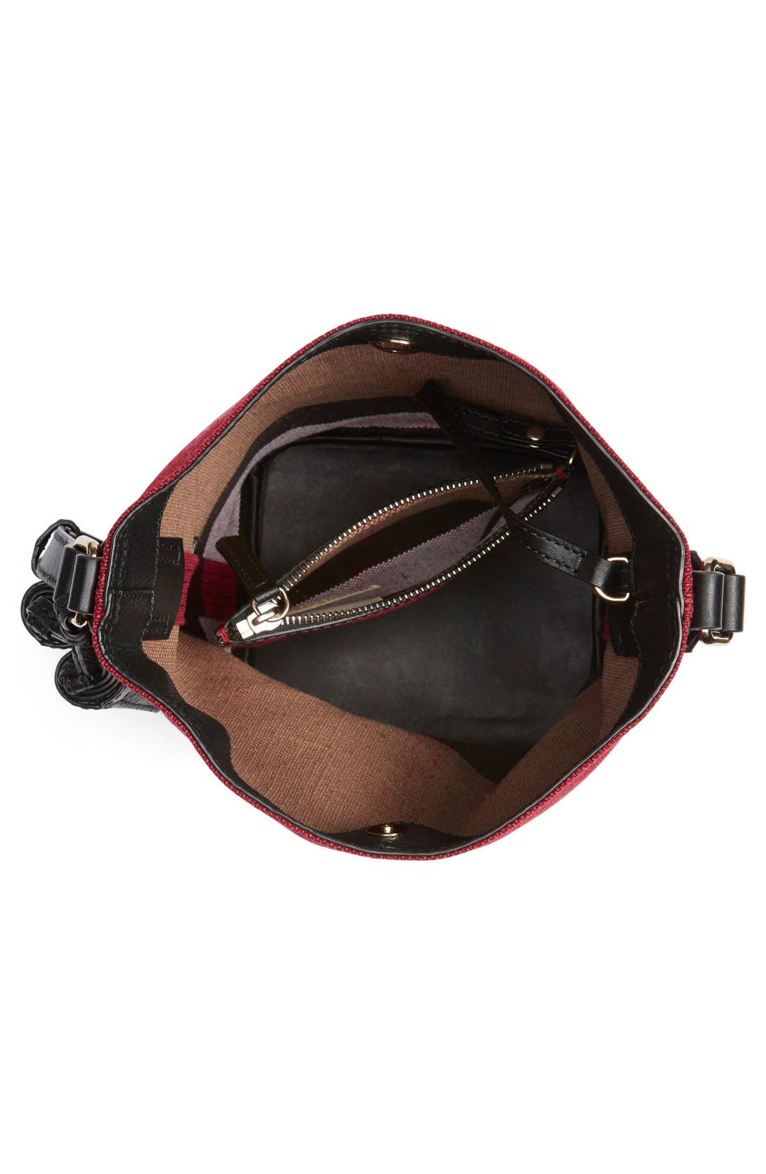 Alternate Image 4  - Burberry 'Mini Ashby' Bucket Bag