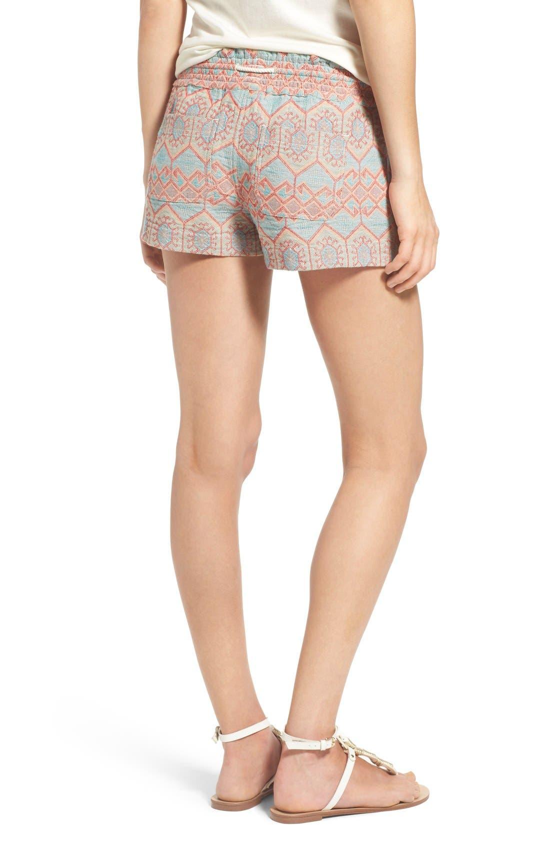 Alternate Image 2  - Roxy 'Oceanside' Jacquard Shorts