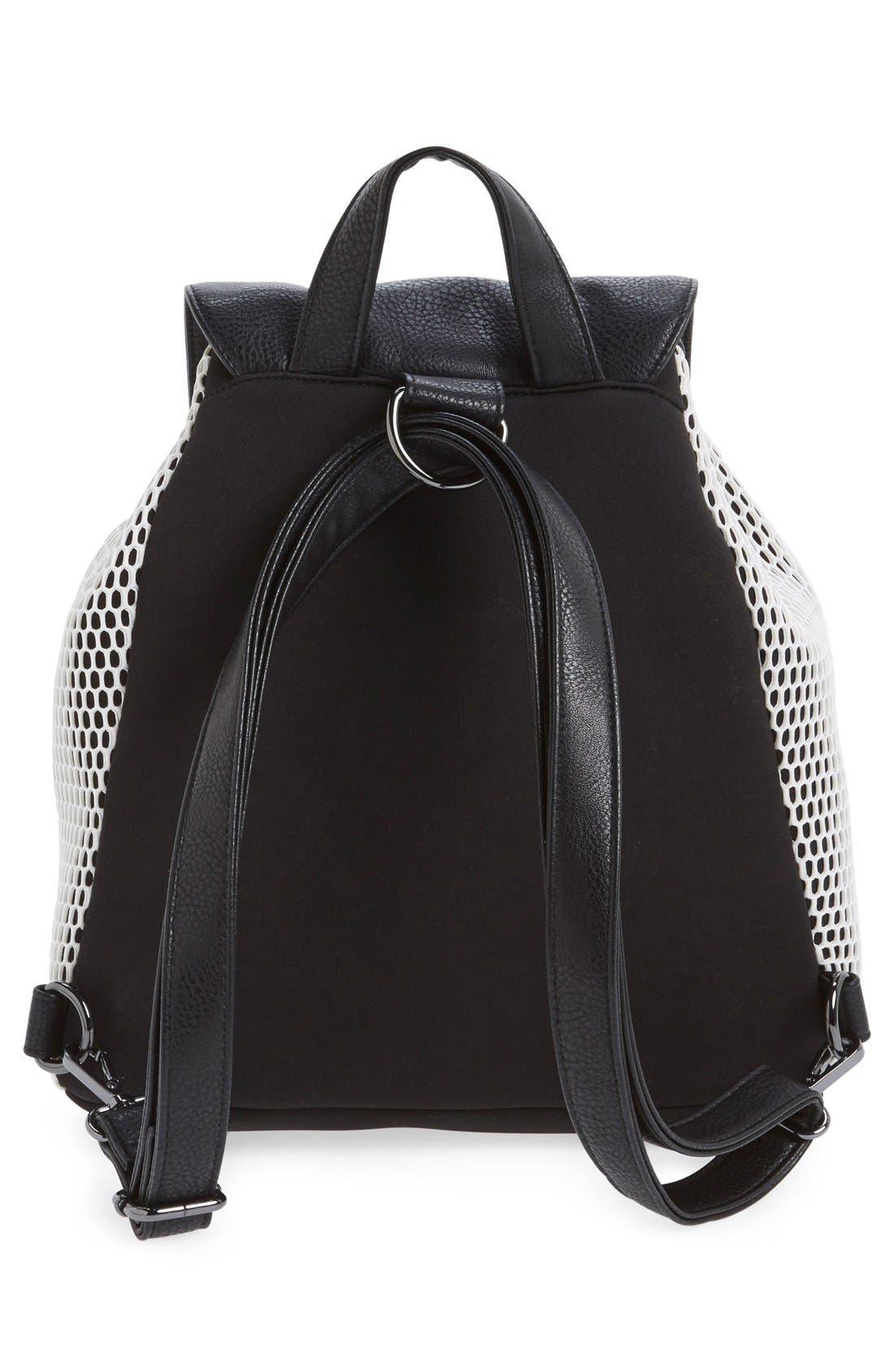 Alternate Image 3  - POVERTY FLATS by rian Mesh Backpack