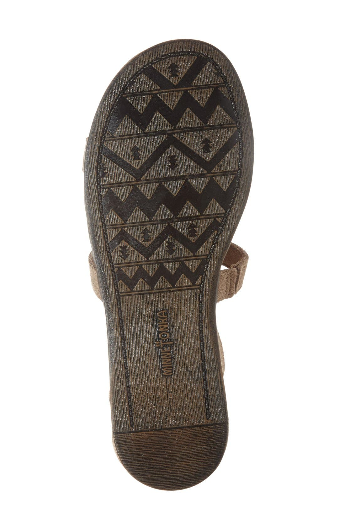 Alternate Image 4  - Minnetonka 'Maui' Sandal