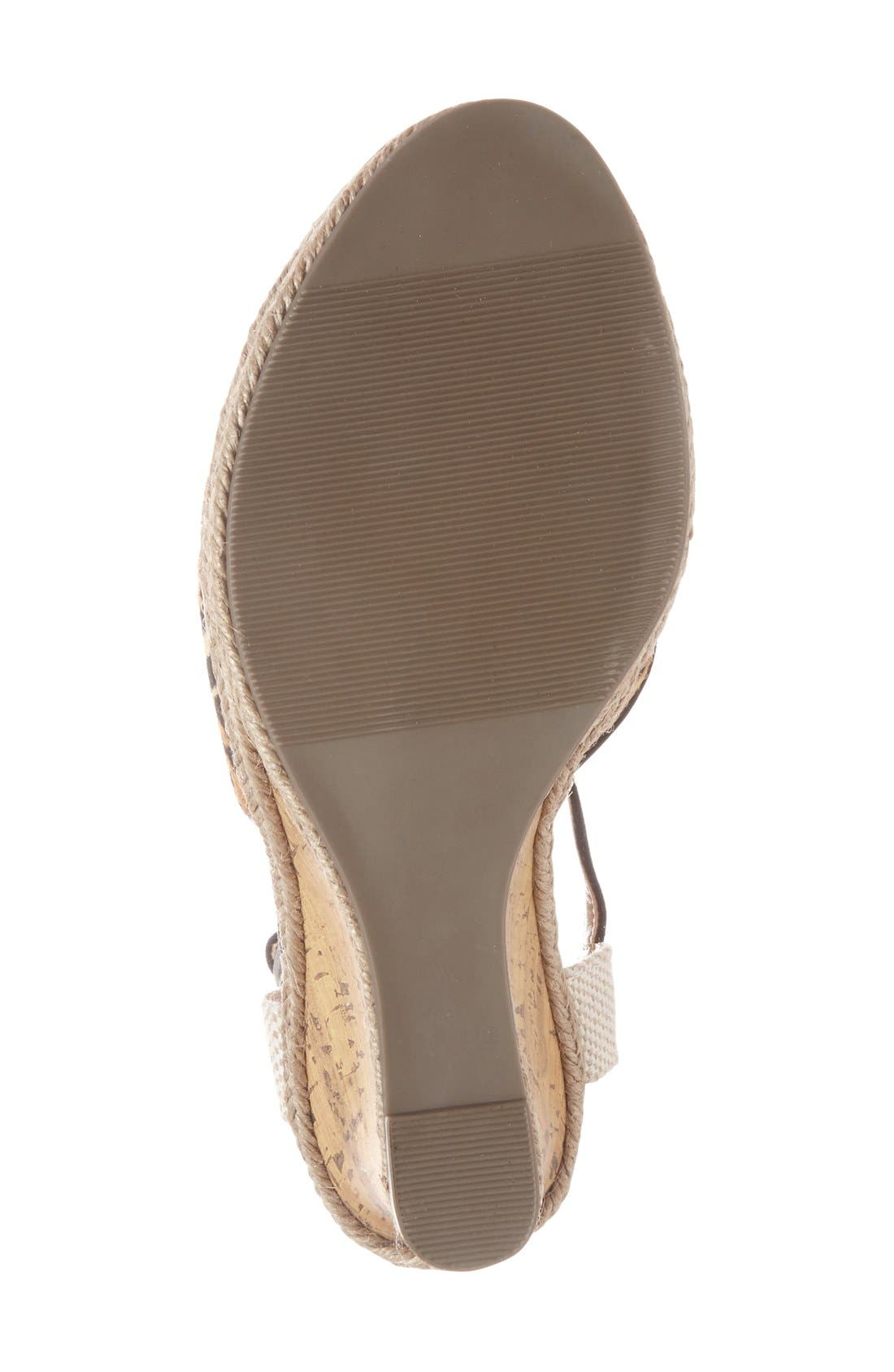 Alternate Image 4  - Sole Society 'Lucy' Wedge Sandal (Women)