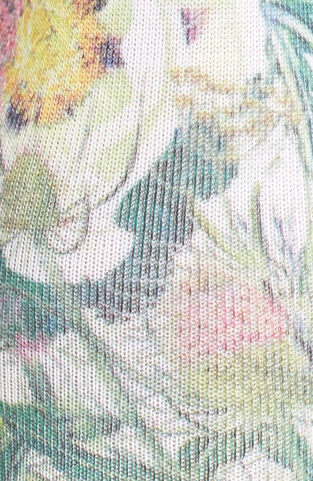Alternate Image 2  - Stance 'Chaotic Flower' Socks