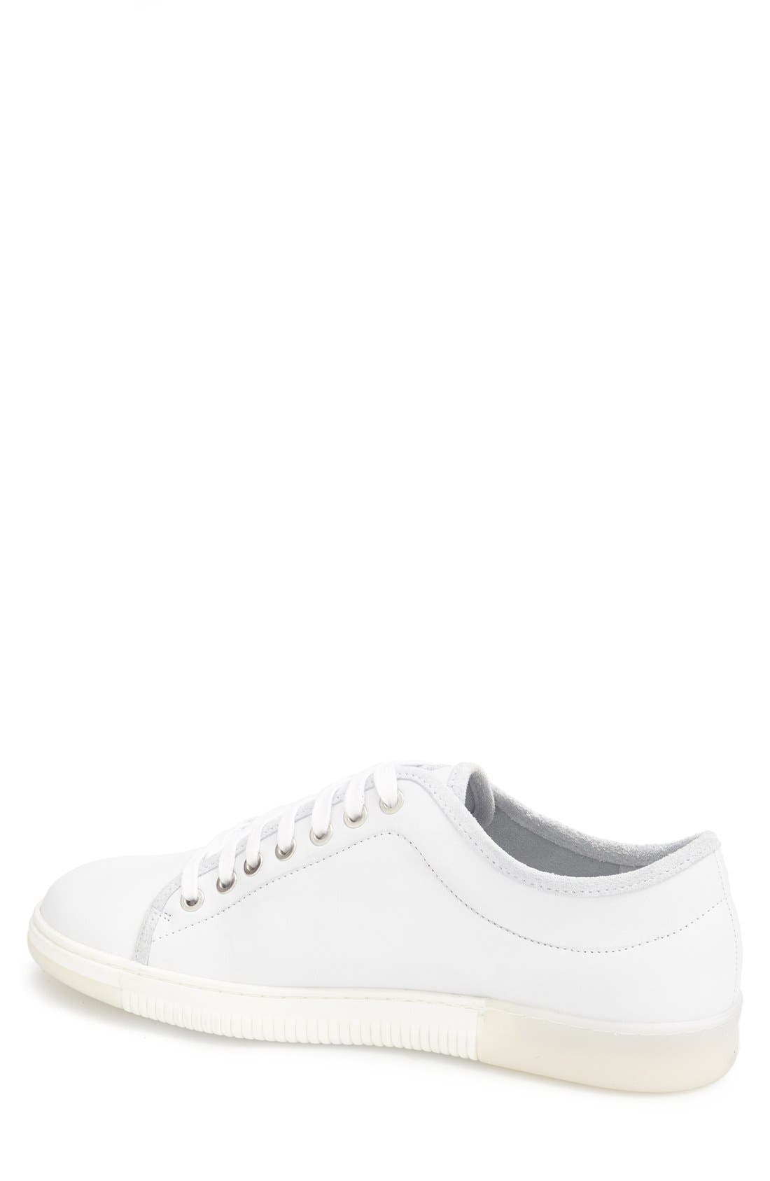 'Justen' Sneaker,                             Alternate thumbnail 2, color,                             White