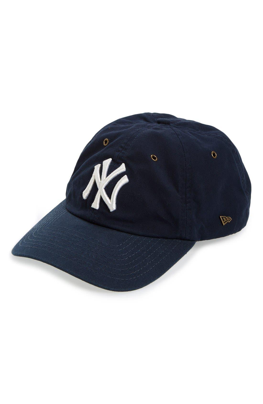 Alternate Image 1 Selected - New Era Cap 'New York Yankees' Baseball Cap