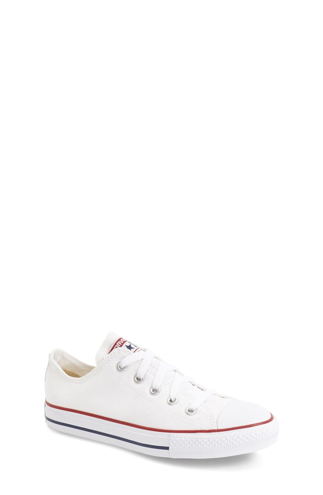 Chuck Taylor<sup>®</sup> Sneaker,                             Main thumbnail 1, color,                             White