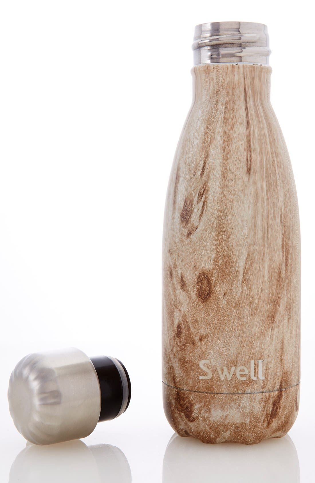 Alternate Image 5  - S'well 'Blonde Wood' Stainless Steel Water Bottle