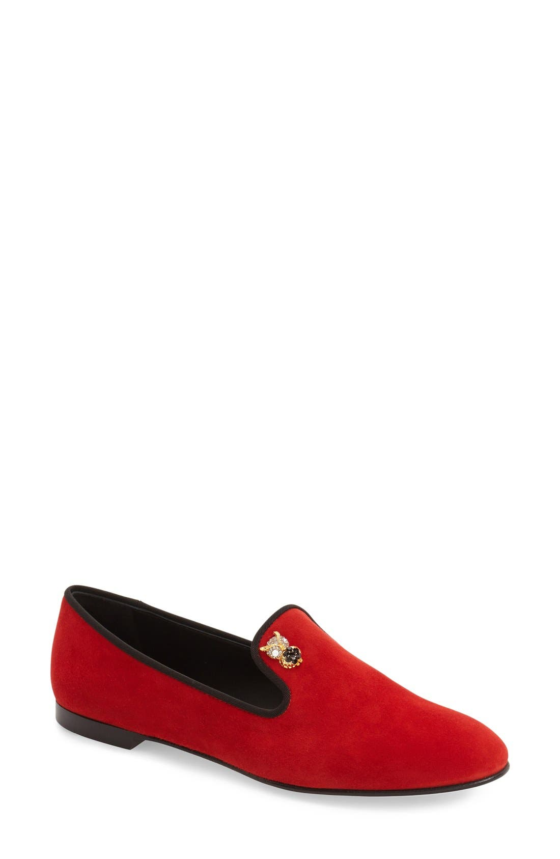 Main Image - Giuseppe Zanotti 'Dalila' Loafer (Women) (Nordstrom Exclusive)