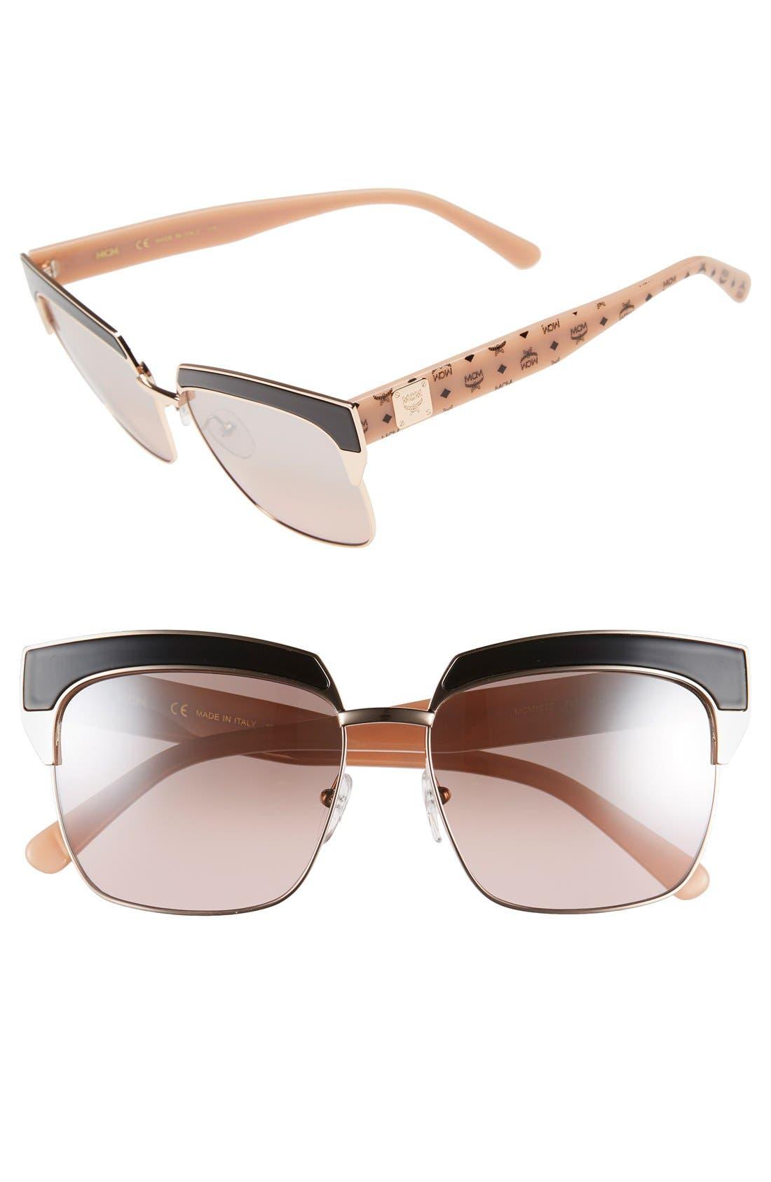 Main Image - MCM 'Visetos' 56mm Retro Sunglasses