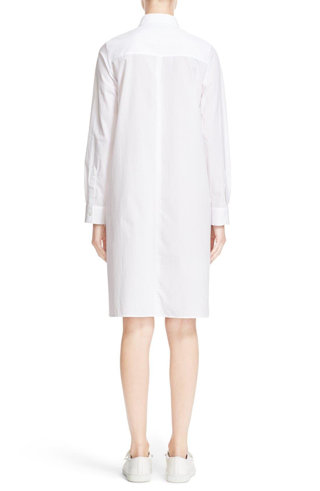 Alternate Image 2  - ACNE Studios 'Rosamund' Piqué Shirtdress
