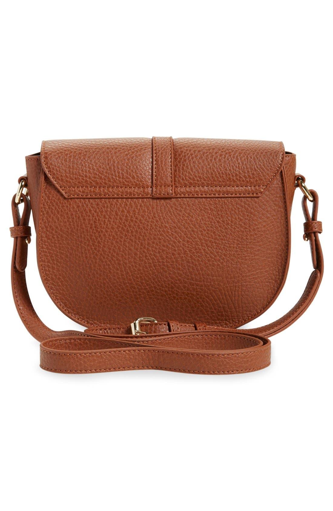 Alternate Image 3  - BP. Faux Leather Saddle Crossbody Bag