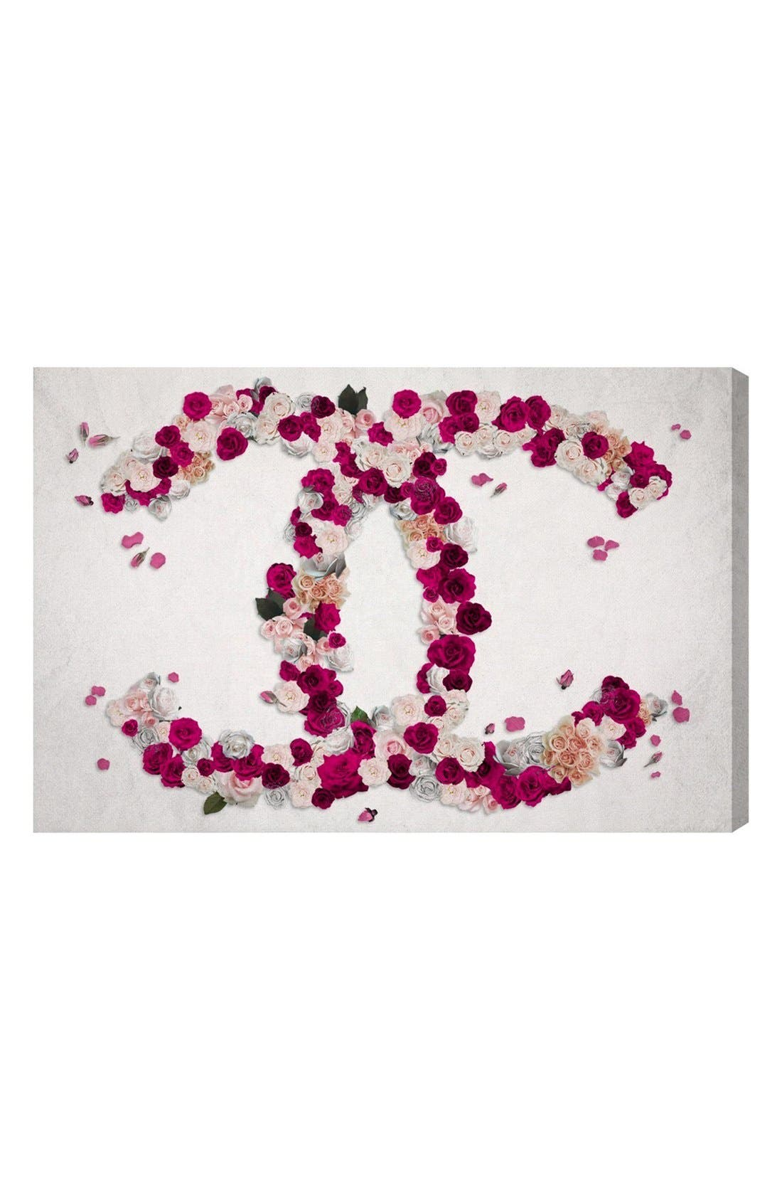 Main Image - Oliver Gal 'Dreaming Beauty' Canvas Wall Art