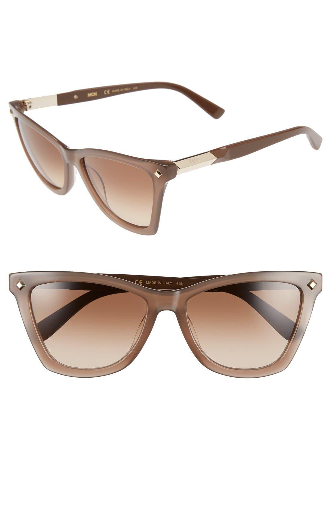 MCM 57mm Retro Sunglasses
