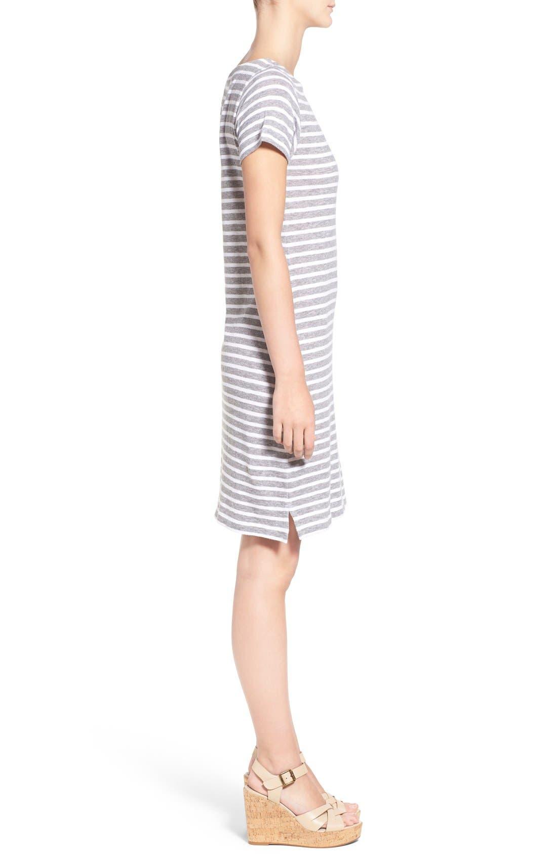 Alternate Image 3  - Vineyard Vines Stripe T-Shirt Dress