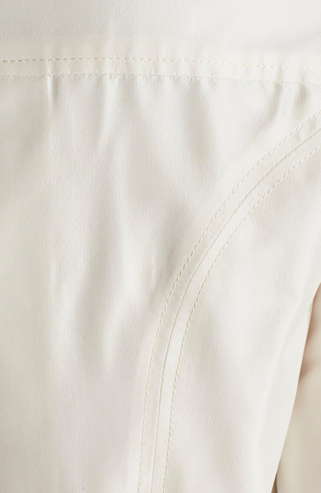 Alternate Image 3  - Carolina Herrera Silk Taffeta Trench Gown