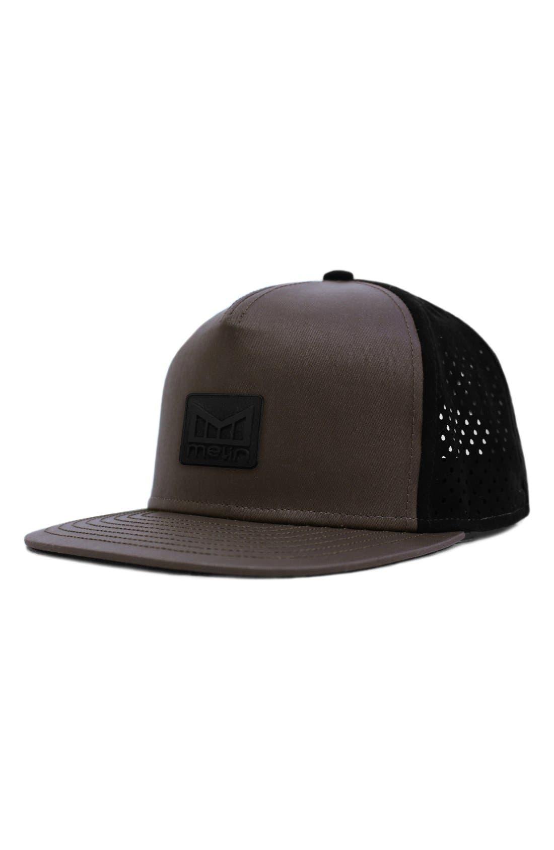 'The Nomad' Split Fit Snapback Baseball Cap,                             Main thumbnail 1, color,                             Taupe