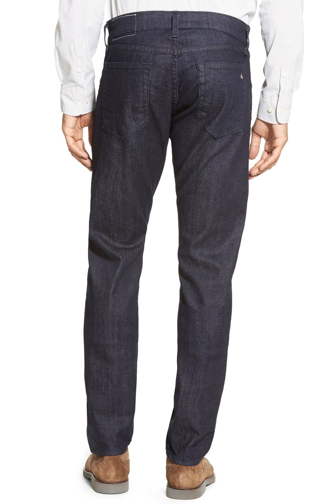 Alternate Image 2  - rag & bone Standard Issue Fit 2 Slim Fit Jeans (Tonal Rinse)