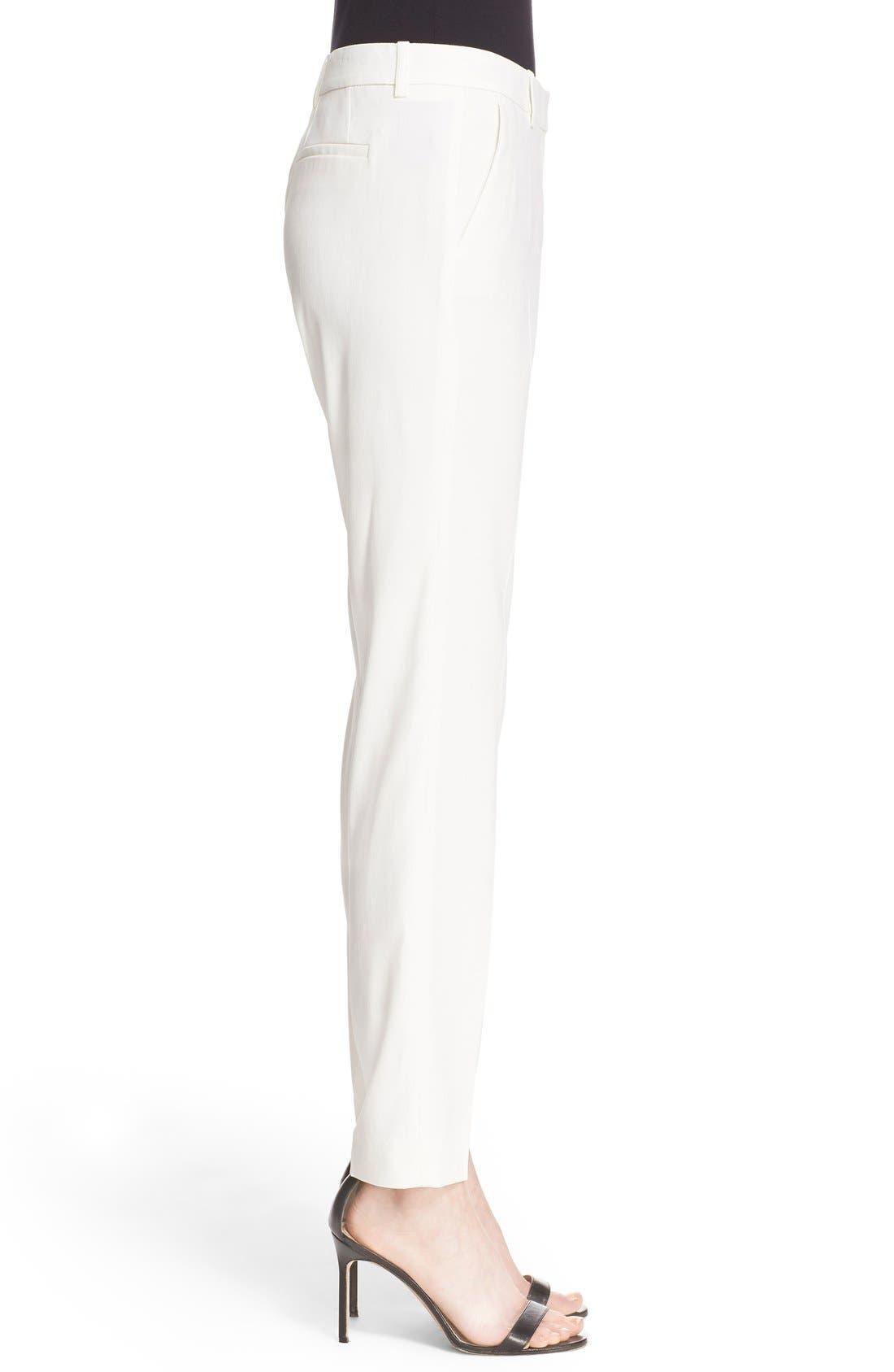 Alternate Image 3  - The Kooples Stretch Crepe Ankle Pants