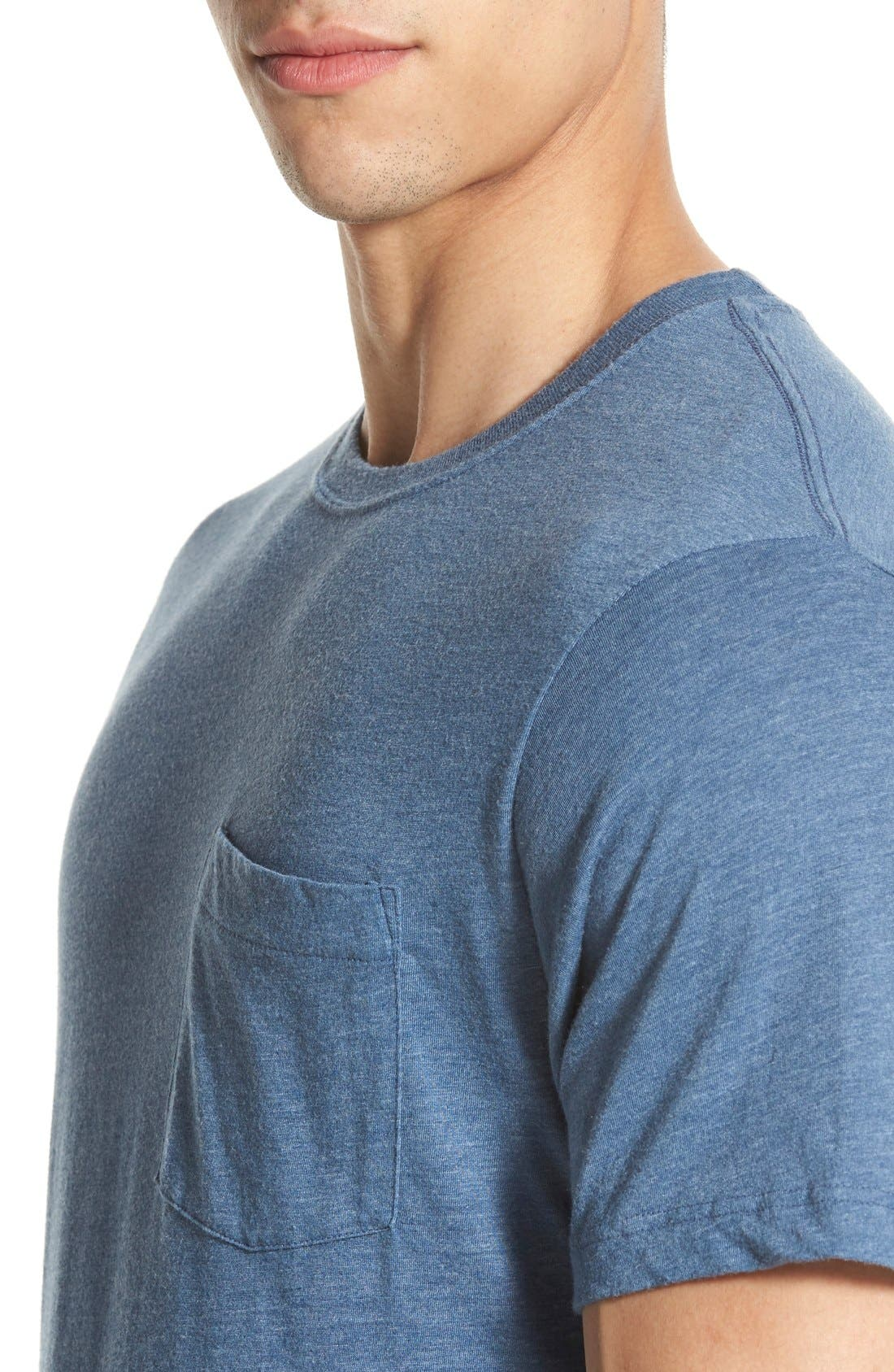 Alternate Image 4  - Patagonia 'Daily Triblend' Pocket T-Shirt
