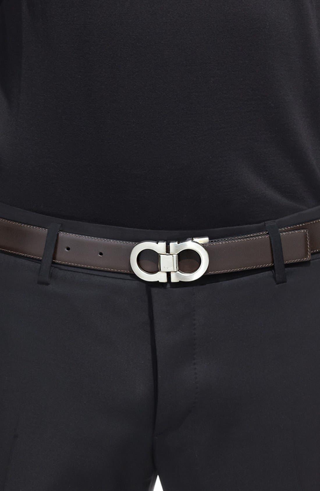 Alternate Image 11  - Salvatore Ferragamo Double Gancio Reversible Leather Belt