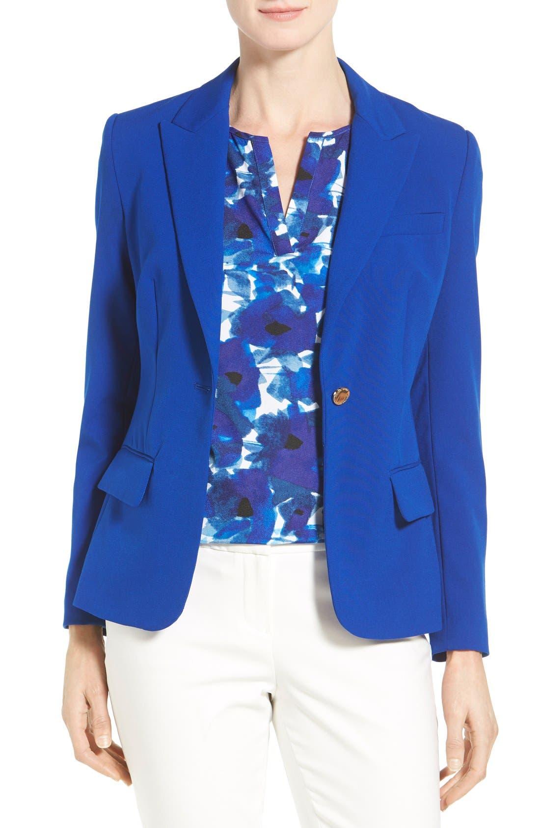 Alternate Image 1 Selected - Ivanka Trump One-Button Jacket
